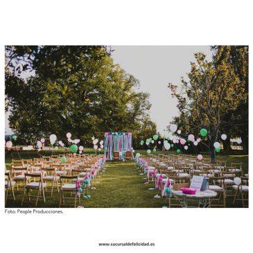"""Una boda con mucho """"love"""""""