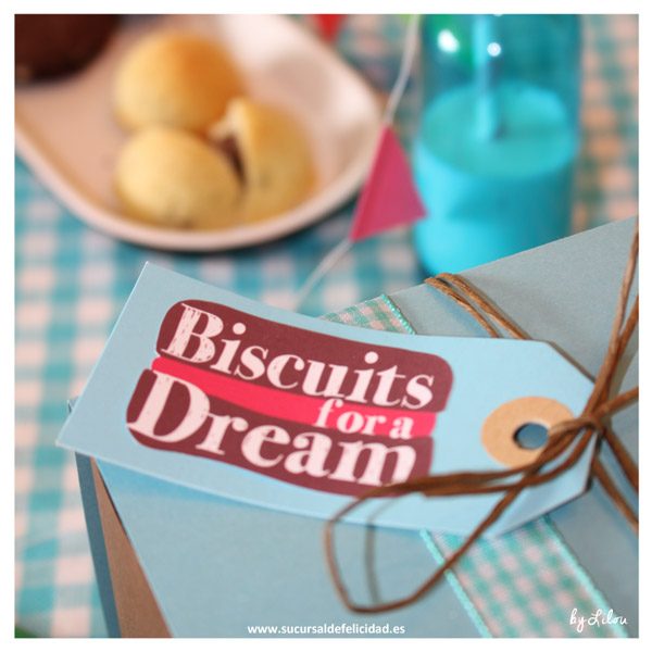 Comunicación - Biscuits, Diseño de marca