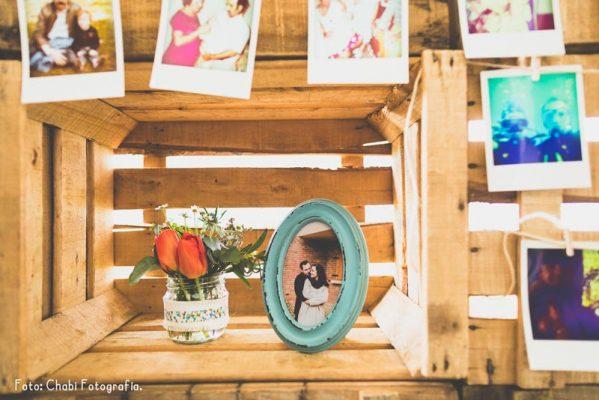 Decoración para boda - Foto: Chabi fotografía.