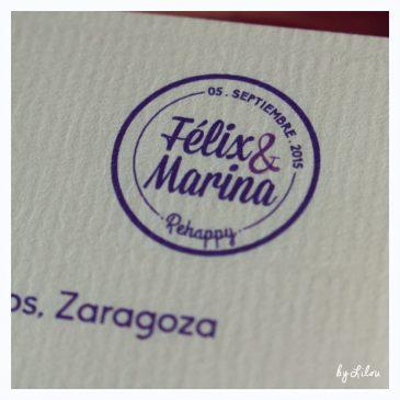 Invitaciones de boda - Detalle logo