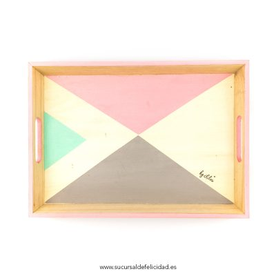 Bandeja-triangulos-rosa-gris-y-mint