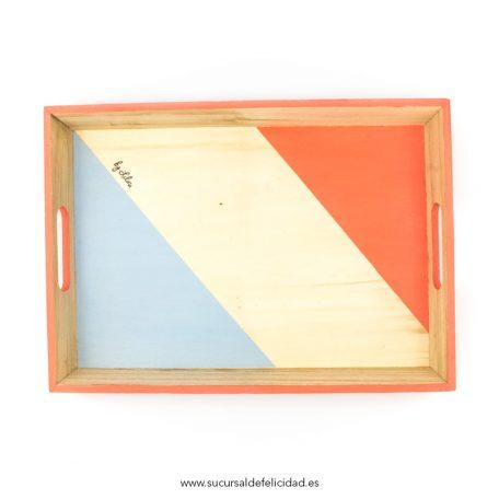 bandeja-triangulos-coral-y-azul