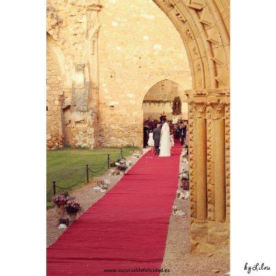 Boda Rehappy Marina & Félix - Ceremonia en el Monasterio de Piedra
