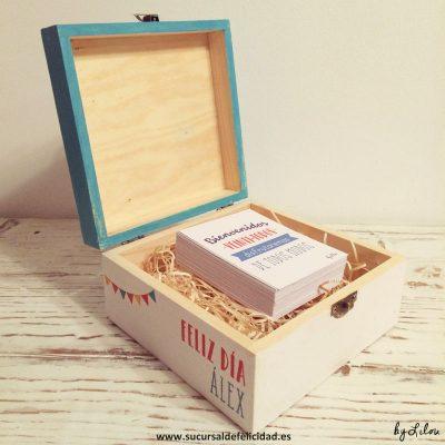Cajita personalizada - Regalo de cumpleaños para Álex