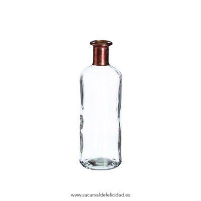 Botella transparente gr