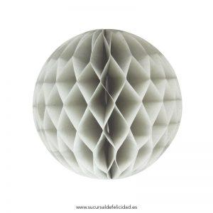 honeycomb-ball-grey