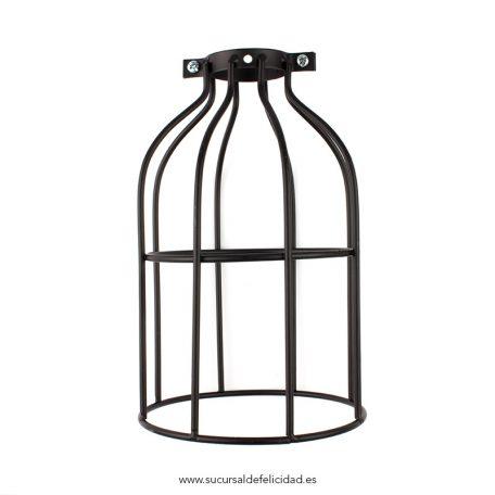 pantalla-jaula-para-lampara-negra