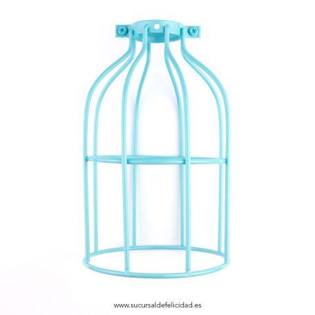 pantalla-jaula-para-lampara-turquesa