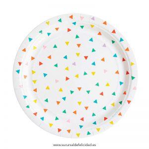 paper-plate-multicolour-triangle