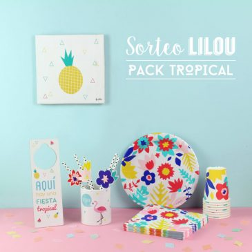 Sorteo de veranito - Pack Tropical