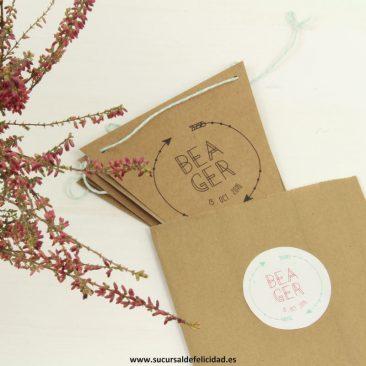 Invitaciones de boda personalizadas - Bea y Ger