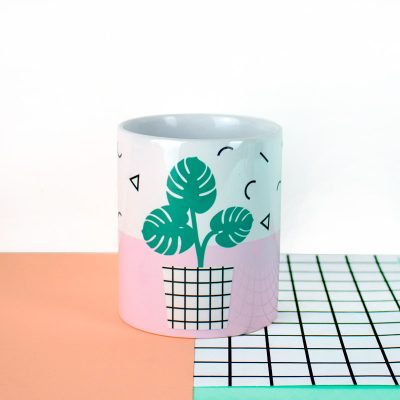 taza monstera memphis