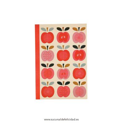 libreta manzanas