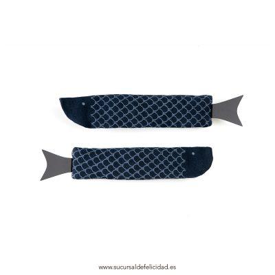 Calcetines Fish Azul