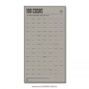 Póster 100 cosas que hacer