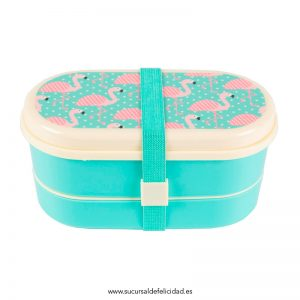 Lunch box flamencos