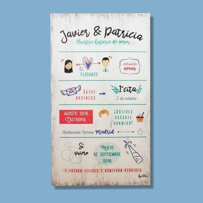 Cartel Historia de Amor