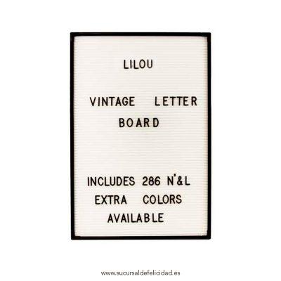 Letter Board Blanco