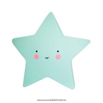 Luz Quitamiedos Estrella Mint