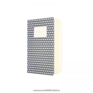 Libreta Abstract Azul