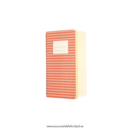 Libreta Abstract Naranja