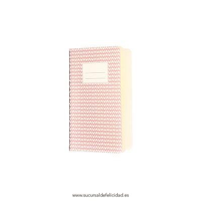 Libreta Abstract Rosa