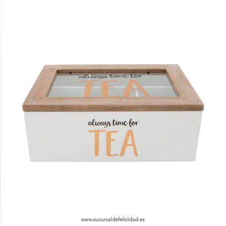 Caja Tea Time