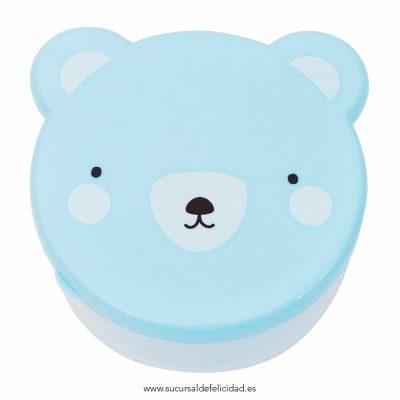 Lunch Box Osito Azul
