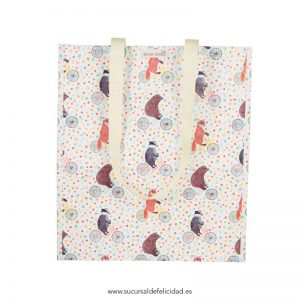 Tote bag happy animals