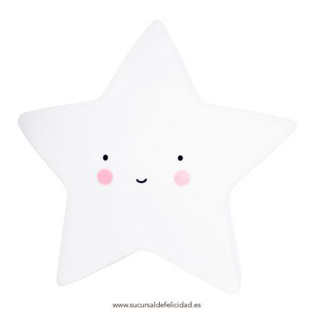 Luz Quitamiedos Estrella Blanca