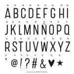Pack de Letras Basico Lightbox