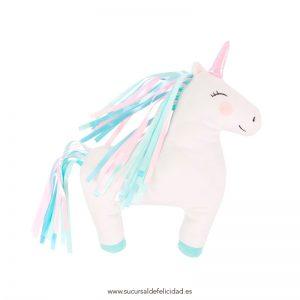 Cojín Unicornio de Colores
