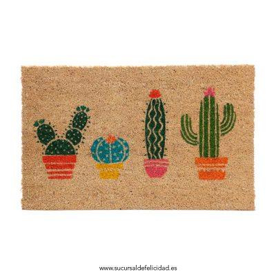 Felpudo Cactus