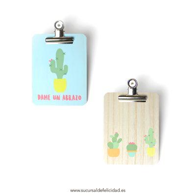 Clip Board Cactus
