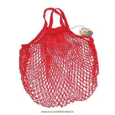 Bolsa de la Compra Red Vintage Roja