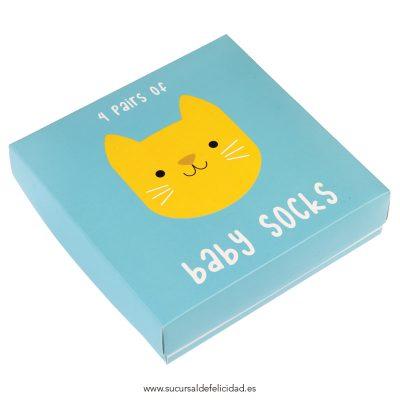 Calcetines Bebé Gatitos