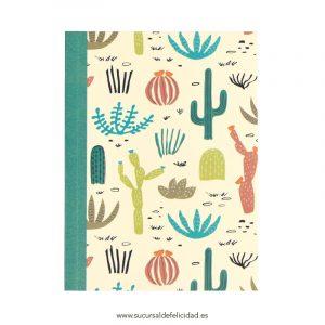 Libreta Cactus A6