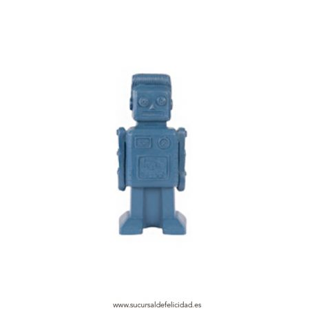 Robot Ambientador Azul