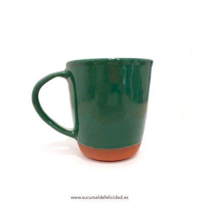 Taza Cerámica Verde