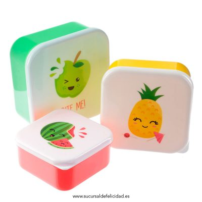 Set Tuppers Frutas