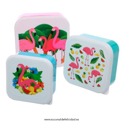 Tuppers Tropicales Flamencos