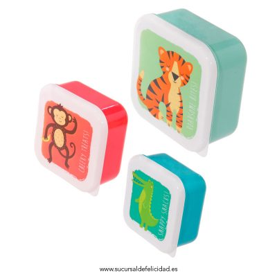 Kit Tuppers Animales