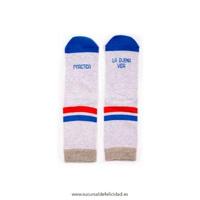 Calcetines La Buena Vida - Azul