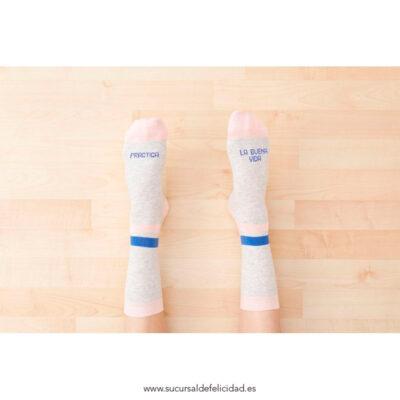 Calcetines La Buena Vida - Rosa