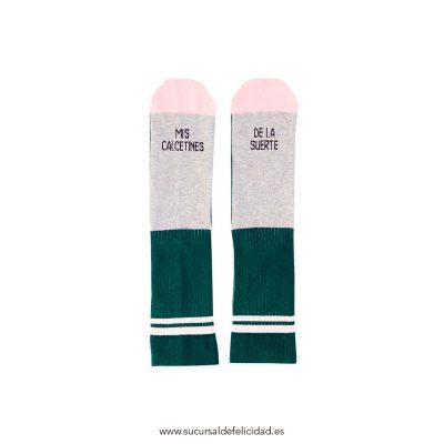 Calcetines Mis Calcetines de la Suerte Rosa