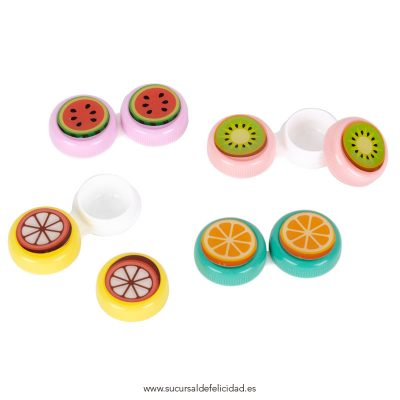 Estuche para lentillas - Frutas