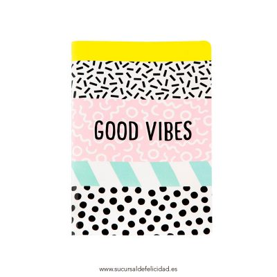 Libreta Good Vibes