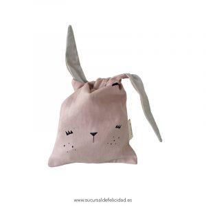 Bolsa Almuerzo Conejo Rosa