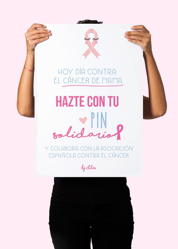 Cartel Pin Solidario Lilou