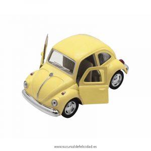 Coche Juguete Beetle Classical Amarillo